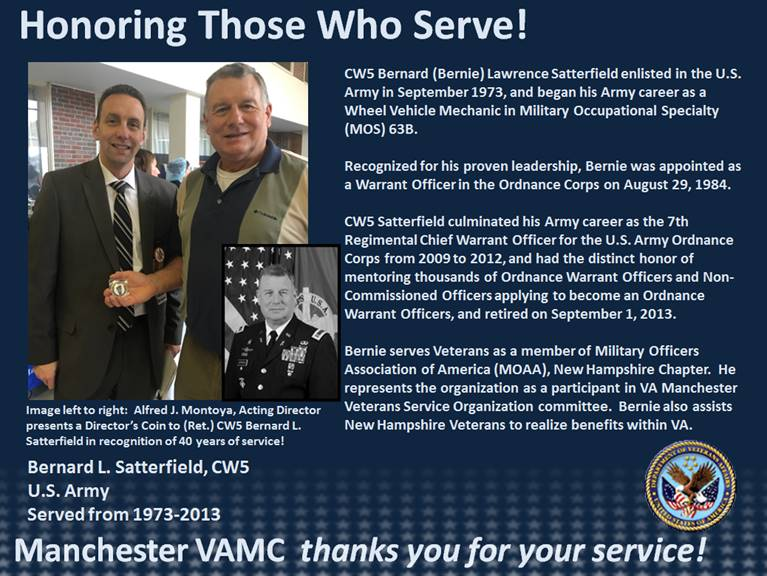 Honoring Those Who Serve - Satterfield